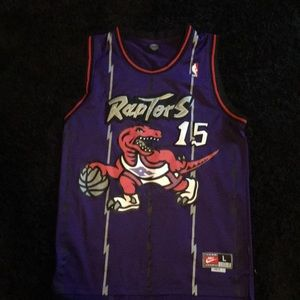 Vince carter stocked jersey size large+2 in length